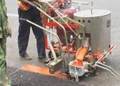北京手推式热熔划线机