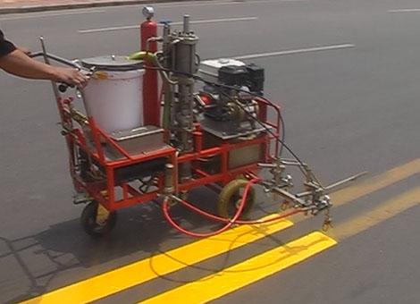 北京手推式高压无气冷喷涂划线机