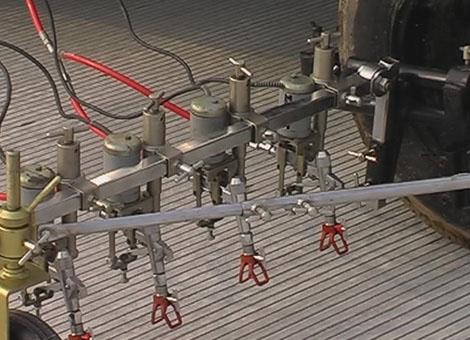 鞍山机场专用车载式划线机