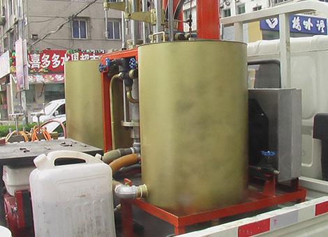 车载式高压无气冷喷涂划线机