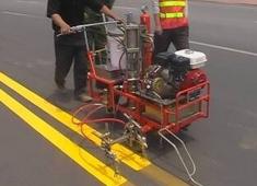 手推式高压无气冷喷涂划线机