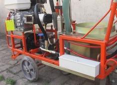 吉林手推式高压无气冷喷涂划线机