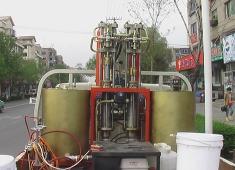 山西车载式高压无气冷喷涂划线机